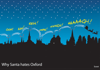 natale a oxford