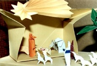 presepe origami