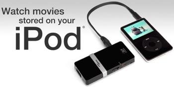 videoproiettore per ipod