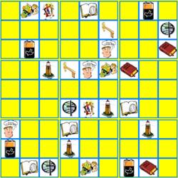 Giochi per bambini sulla religione e un sudoku originale for Giochi per bambini di un anno