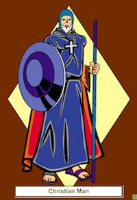 supereroe religioso