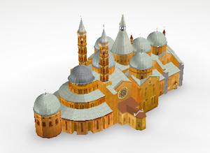 Basilica Sant'Antonio 3D