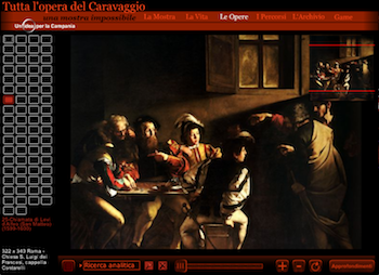 Chiamata di Matteo Caravaggio