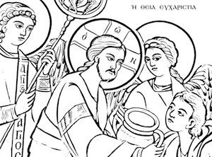 Icone ortodosse da colorare religione 2 0 l 39 ora di - Pagine a colori in bianco e nero ...