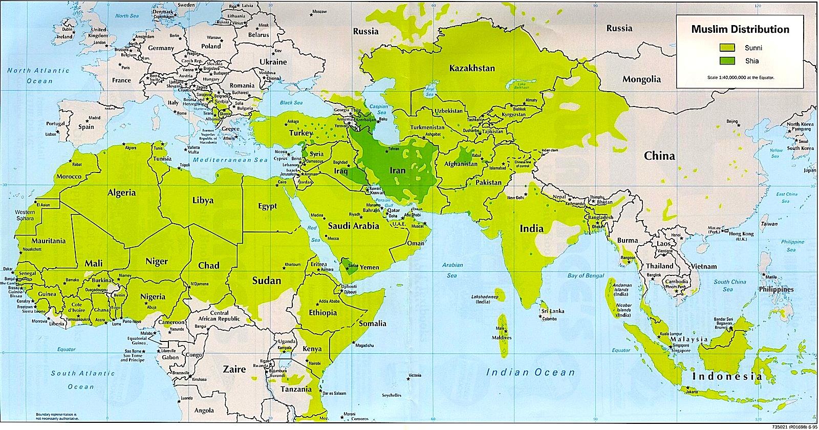 Cartina Delle Religioni Nel Mondo Da Colorare.Una Mappa Per Capire La Collocazione Geografica Di Sciiti E Sunniti Religione 2 0 L Ora Di Religione Nell Era Digitale