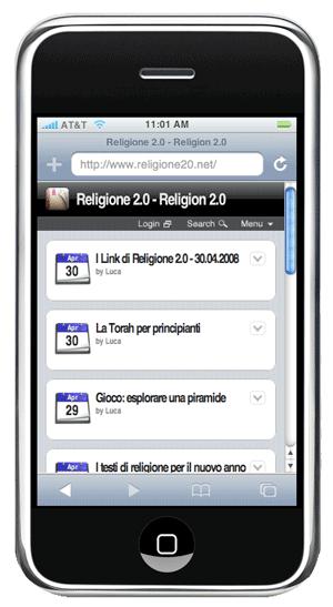 religione 2.0 iphone ready