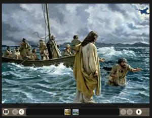 Gesù cammina sulle acque