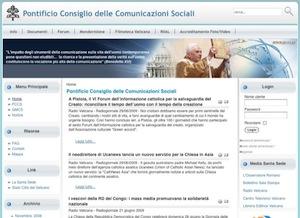 pontificio consiglio comunicazioni sociali