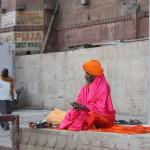 sadhu in meditazione