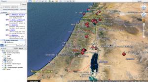 Vita di Gesù con le mappe di Google